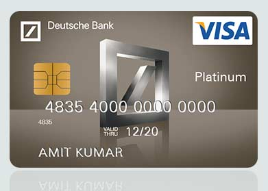 Visa Platinum Debit Card - Deutsche Bank