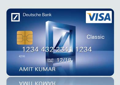 Deutsche Bank Ec Karte.Visa Classic Debit Card Deutsche Bank
